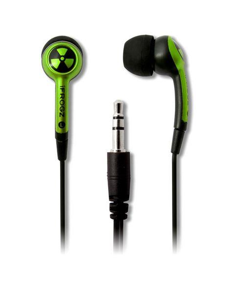 IFrogz Earpollution Plugz D-33 - Lime - Boyz Toys