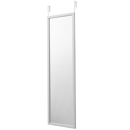 buy cambridge over the door mirror white from our mirrors range tesco. Black Bedroom Furniture Sets. Home Design Ideas