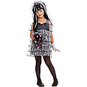 Child Zombie Bride Costume Small