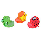 Bigjigs Toys BJ145 Animal Castanets (Pack of 2 - Designs Vary)
