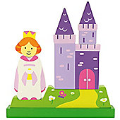 Bigjigs Toys BJ672 Vertical Magnetic Puzzle Princess