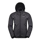 Mountain Warehouse Blaze Mens Showerproof Illumination Jacket - Black