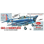 Guillows Douglas Dauntless 1003 Powered Balsa Aircraft 1:16 Flying Model Kit