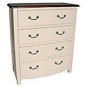 Wiseaction Limoges 4 Drawer Chest