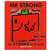 Mr Men Mr Strong Soap on a rope