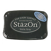Stazon Ink Pads Stone Grey
