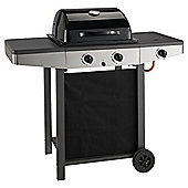 Tesco 2-burner Gas BBQ & Side Burner