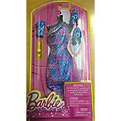 Barbie Fashionistas Pink and blue Dress, Bag and Shoes