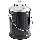 VonShef 4.5 Litre Stainless Steel Compost Bin Caddy & Filter