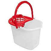 Tesco Basics Bucket and wringer Red