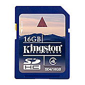 Kingston 16GB SDHC Card
