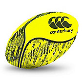 Canterbury Thrillseeker Fluro Rugby Ball - Safety Yellow - Yellow