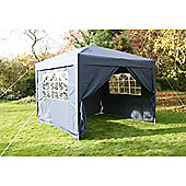 Airwave Pop Up Gazebo Fully Waterproof 3x3m in Blue