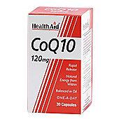 HealthAid CoQ-10 120mg 30 Capsules