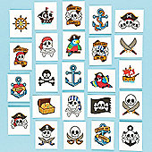 Pirate Tattoos (Pack of 24)