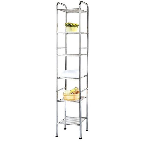 Techstyle Six Tier Metal Storage Shelves