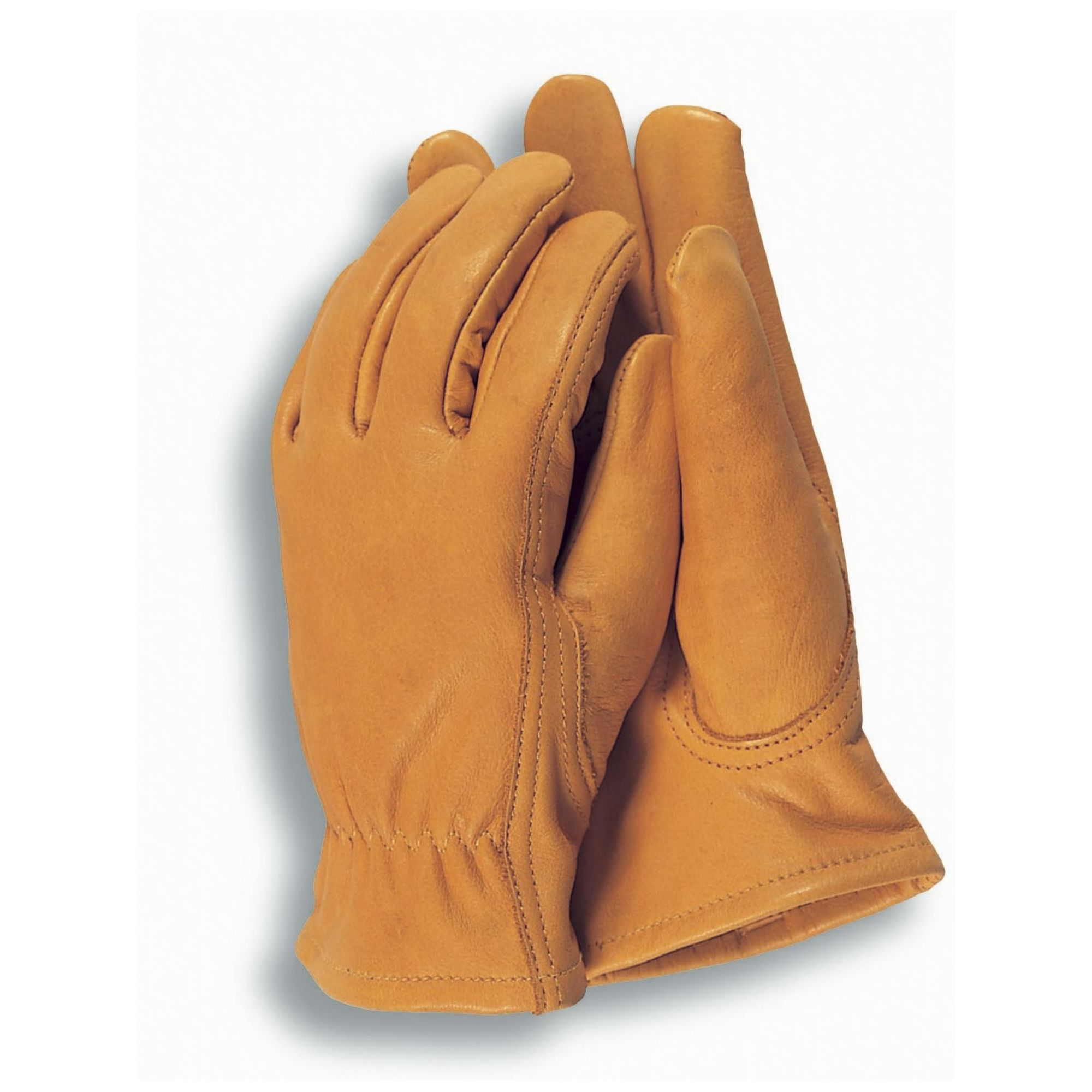 Ladies leather gloves yellow - Town Country Medium Premium Leather Gardening Gloves For Ladies