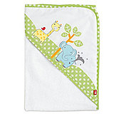 Mothercare Snoozie Safari Cuddle 'n' Dry Hooded Towel