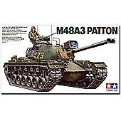 U.S. M48A3 Patton Tank - 1:35 Scale Military - Tamiya
