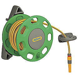 Hozelock Wall-mounted Hose Reel, 15m