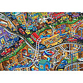 Crowded 1500 Piece Puzzle