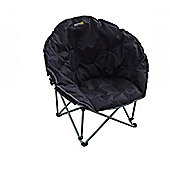 Regatta Castillo Polyester Camping Chair Black