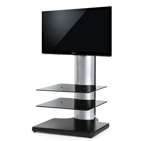 Off The Wall Black and Silver TV Stand for TVs up to 32 inch