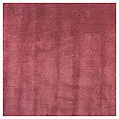 Plain Dye Wool Rug 80x150 Rose