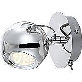 Home Essence Aramid 1 Light Wall Bracket in Chrome