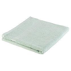 Tesco Pure Cotton Bath Towel Duck Egg