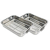 Chefset Roaster Tray in Stainless Steel