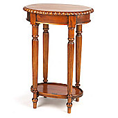Aspect Design by Wayfair Victorian Small Lamp Table in Mahogany