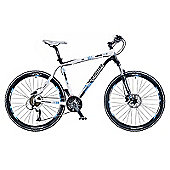 "21.5"" Whistle Miwok 1381D Mens' Bike, Black/White"