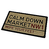 Calm Down Market Outdoor PVC Coir Mat