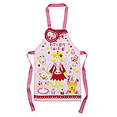 Cooksmart Children's PVC Apron, Princess Cupcake, Pink
