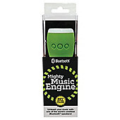WowThem Mighty Music Engine Bluetooth Speaker White/Green
