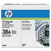HP 38A Dual Pack LaserJet Toner Cartridges - Black