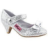 Character Girls Little Angels Silver Party Sandals - Silver