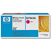 HP Colour LaserJet Cartridge with ColorSphere Toner for Colour LaserJet 3000 -Magenta