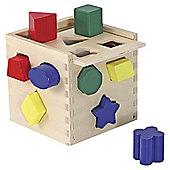 Shape Sorting Cube - Melissa & Doug