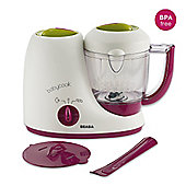Beaba Babycook Original 4-in-1 Babyfood Maker, Steamer and Blender (Gipsy)