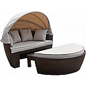 Venice Day Bed in Chocolate Mix and Coffee Cream