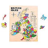 Bigjigs Toys BJ307 British Isles Inset Puzzle