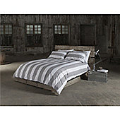 Seascapes Beam Natural Duvet Cover Set - Single