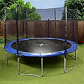 Mad Dash 'The One' Round Family Trampoline with Enclosure & Cover - 12ft