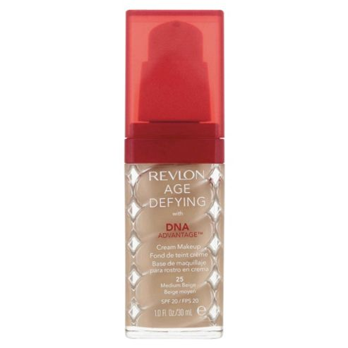Revlon Age Defying with DNA Advantage™ Cream Makeup Medium Beige