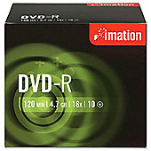 Imation Corp. DVD-R 4.7Gb 16X - Pack of 10