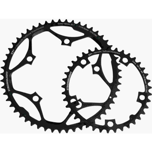 Stronglight CT2 5-Arm/130mm Chainring: 51T.