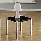 Home Essence Boston Lamp Table in Black