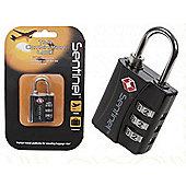 Summit Sentinet TSA 3 Dial Combi Lock